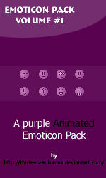 Emoticon Pack Volume '1