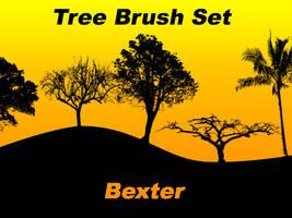 Tree Brush Set by SiDiusBexter