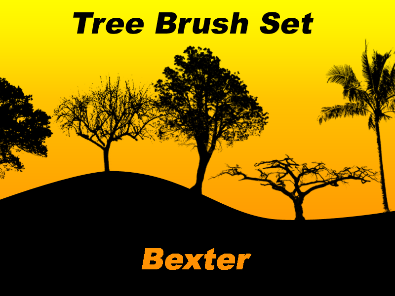 Tree Brush Set by SiDiusBexter
