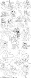 Some Good Drawpile Crums by Baylard