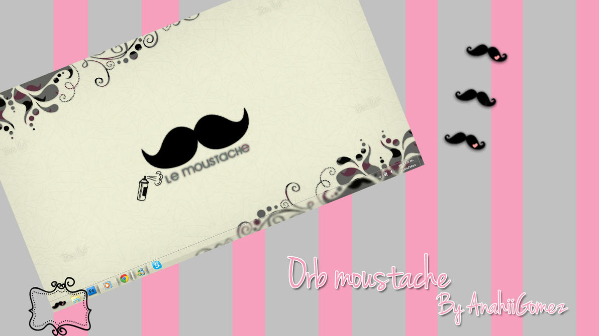 Orb Moustache by AnahiiGomez