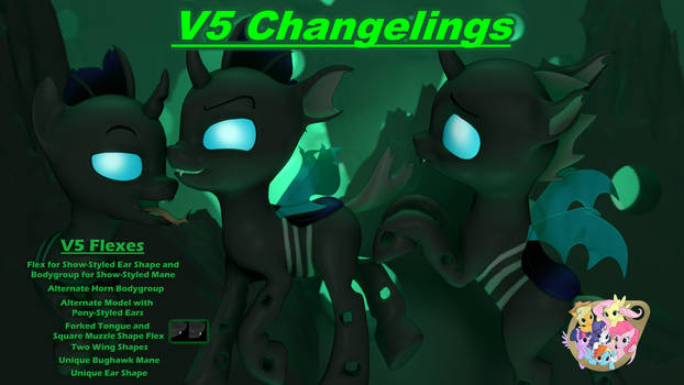 V5 Changeling (and sources)