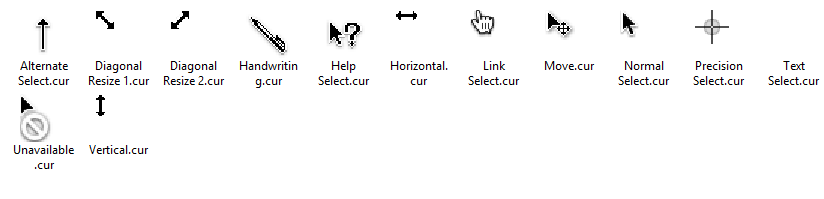 OS X Lion Cursors for Windows by dragonist08 on DeviantArt
