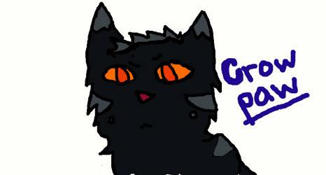 grumpy crowpaw is grumpy