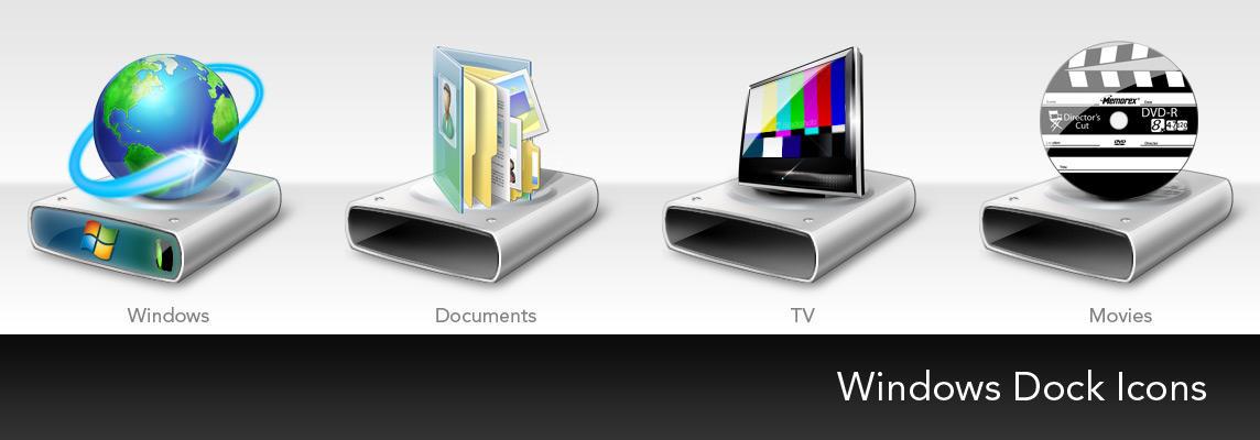 Dock Icons by IceBoxStudios