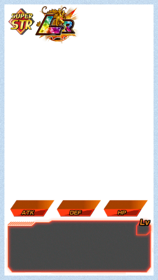 Dokkan Battle Templates / Card Game Info by 345boneshoss on DeviantArt