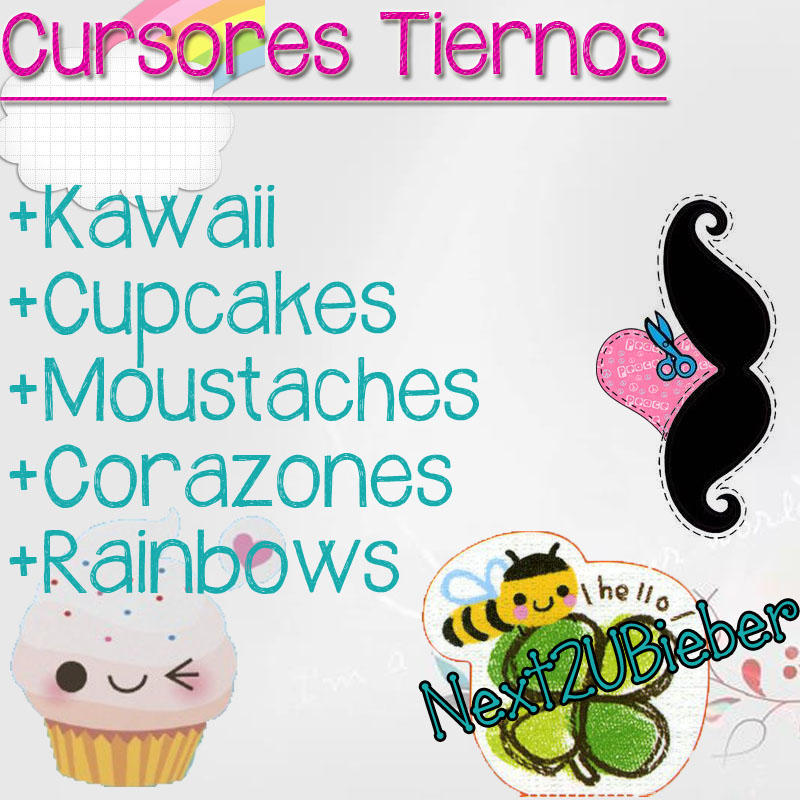 Cursores Tiernos (Sweet Cursors) by Next2UBieber