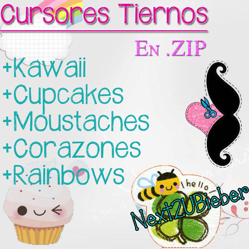 Cursores Tiernos (Cute Cursors) Version ZIP by Next2UBieber