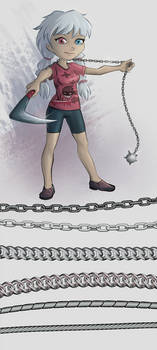 Chain and rope brushes for Clip Studio (download)