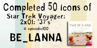 50 Star Trek Icons : 37s by Belanna42