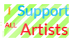 I Support All Artists by theamazincactus
