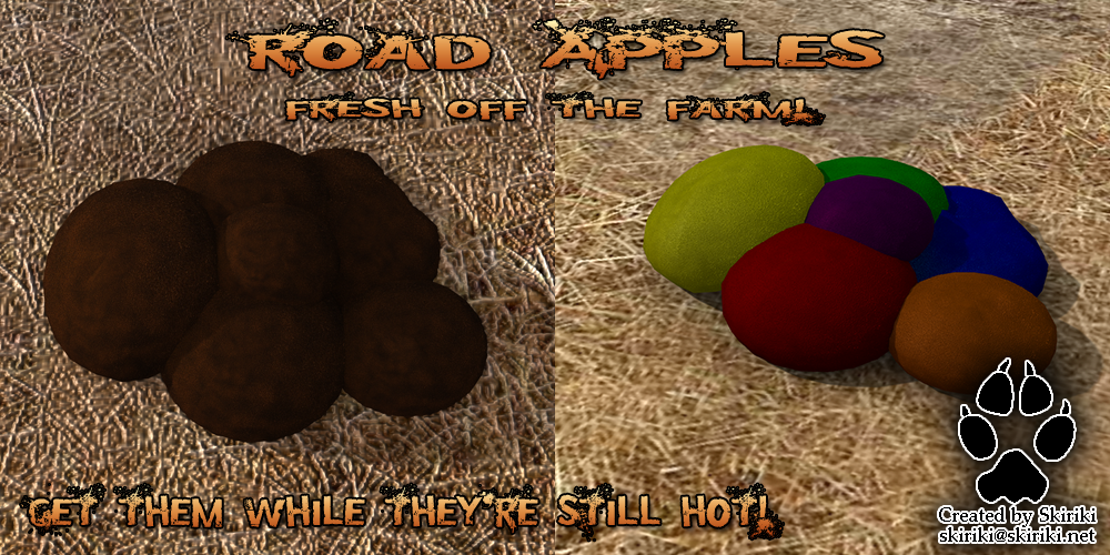Prop (CC-BY-3.0) for DS4.5: Road Apples