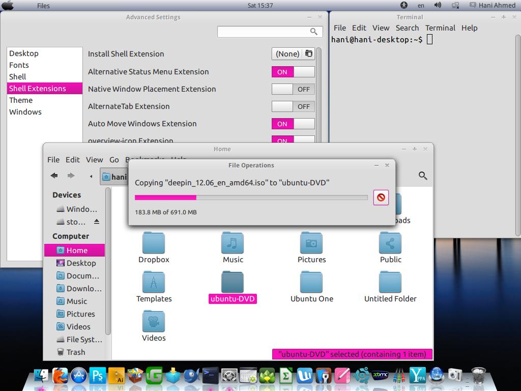 mintu-female theme for ubuntu 12.04