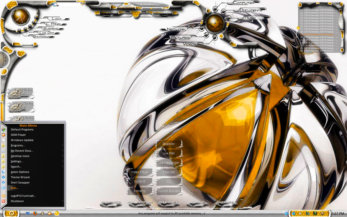 Unleashed 2.0: Gold by KilluminatiStyle