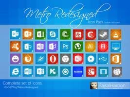 Metro Redesigned Icon Pack