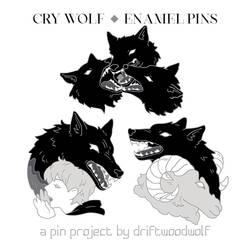 [KICKSTARTER] Cry Wolf Pins