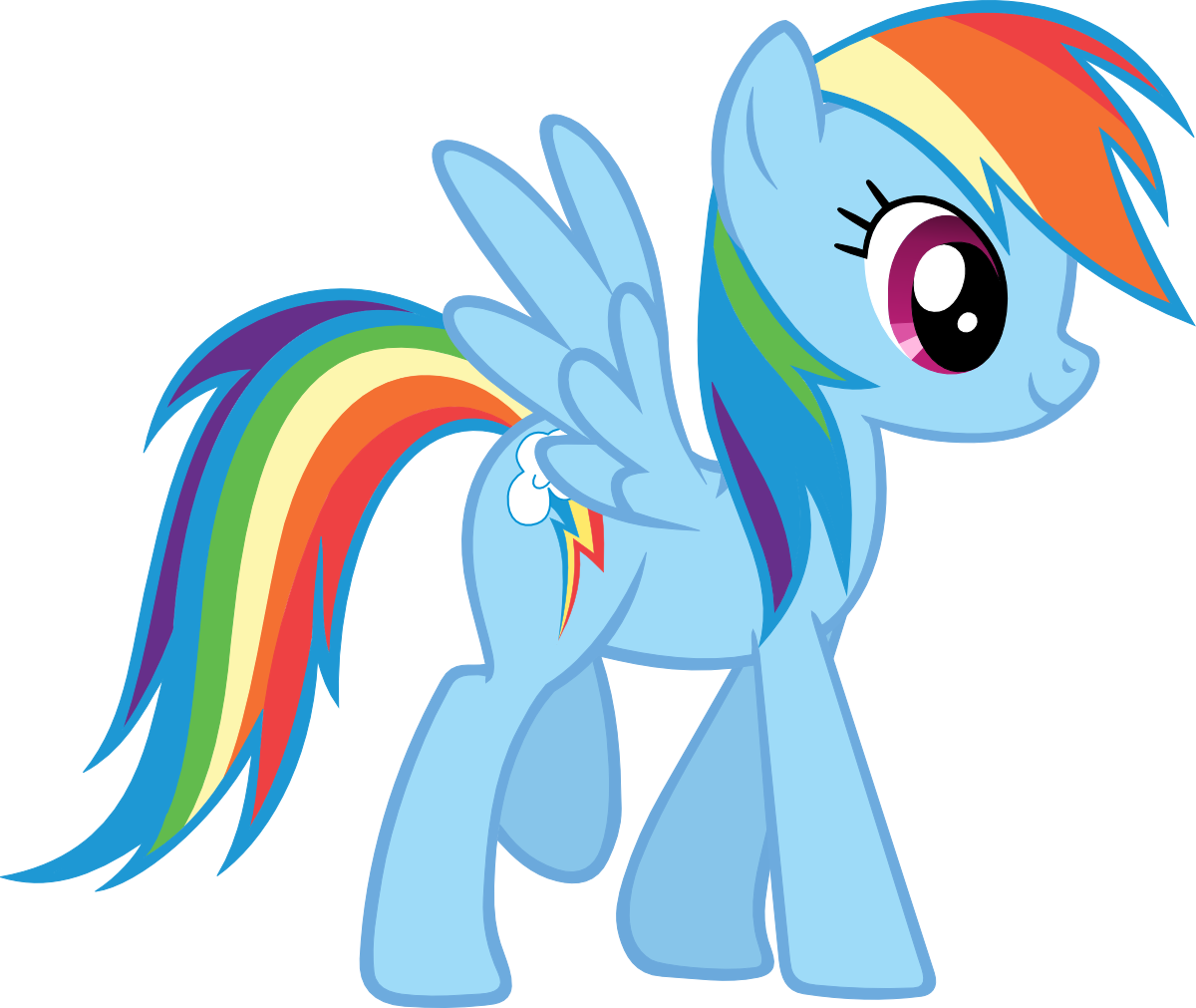 Profile Rainbow Dash by EvilTurnover