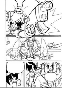 2 Little Bastards 04-18 line art for colorists