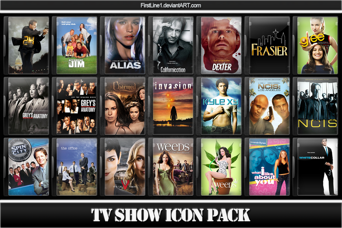 Tv show icon pack 4 by firstline1 on deviantart for Craft shows on tv
