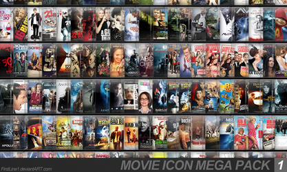 Movie Icon Mega Pack 1 by FirstLine1