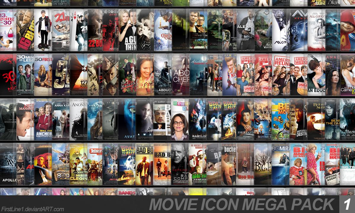 10000 Bc Movie Folder Icon By Sharatj On Deviantart: Movie Icon Mega Pack 1 By FirstLine1 On DeviantArt
