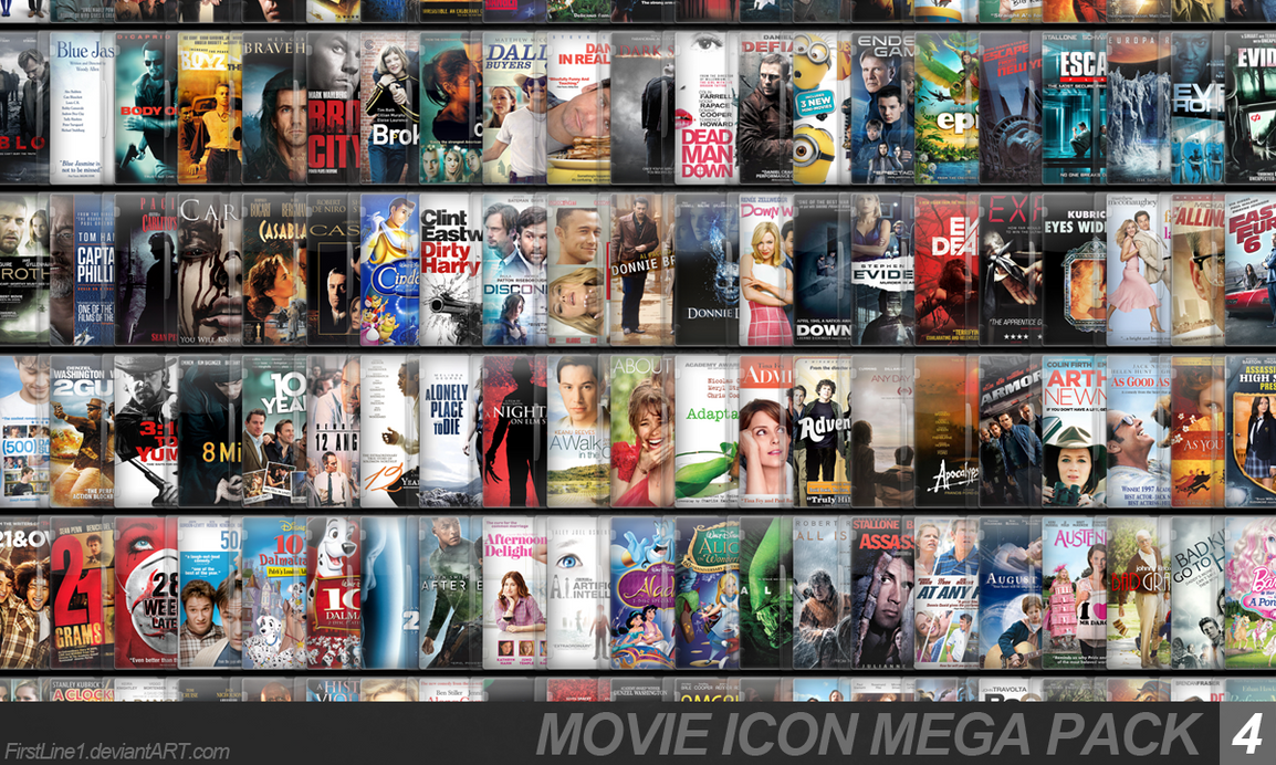 Movie Icon Mega Pack 4