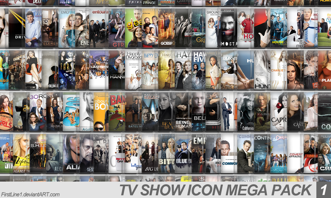 TV Show Icon Mega Pack 1