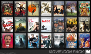 Movie Icon Pack 96