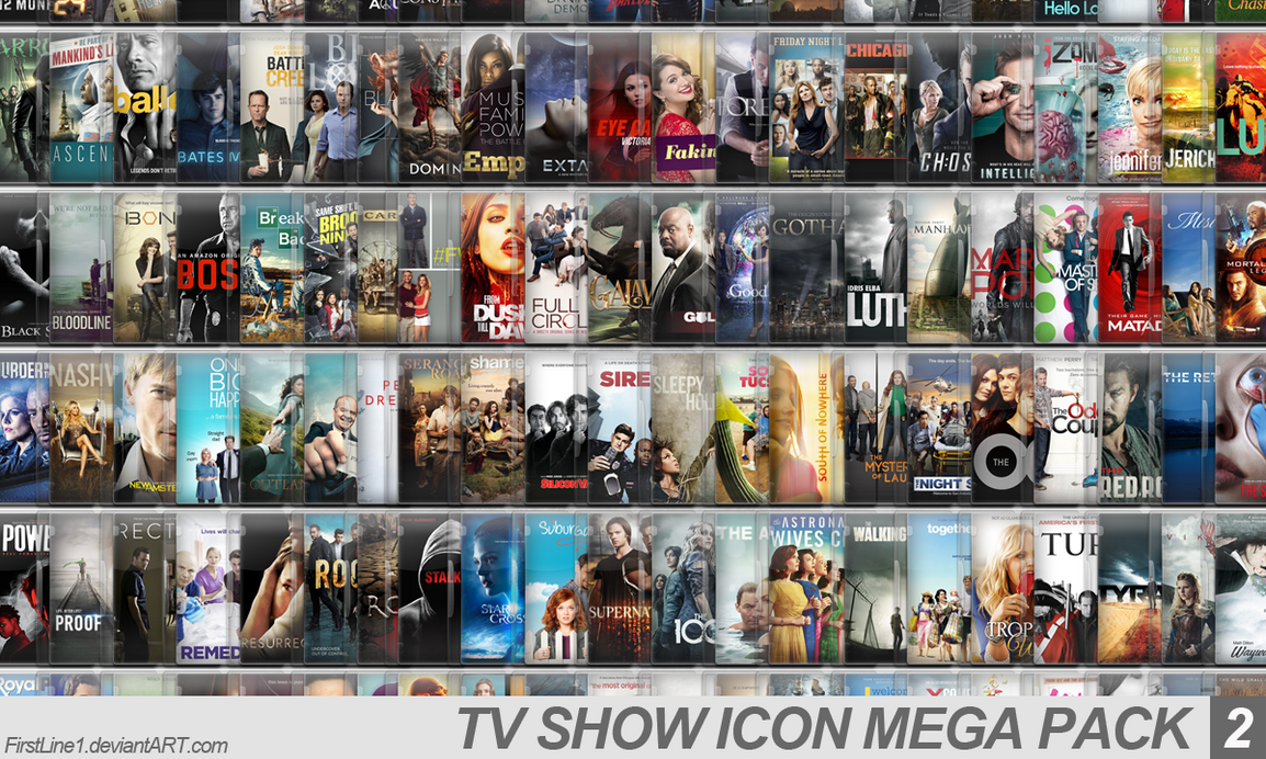 TV Show Icon Mega Pack 2