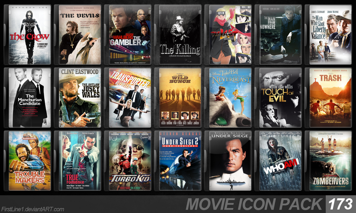 Movie Icon Pack 173 by...