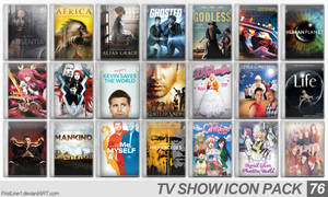 TV Show Icon Pack 76