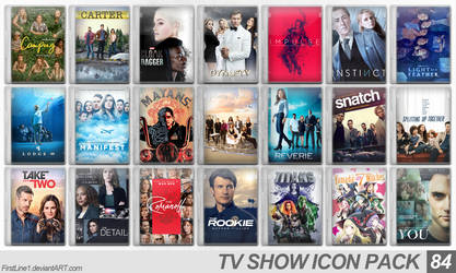 TV Show Icon Pack 84 by FirstLine1
