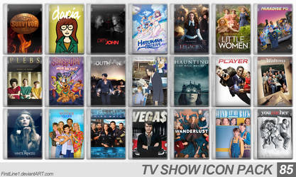 TV Show Icon Pack 85 by FirstLine1