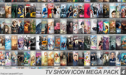 TV Show Icon Mega Pack 4 by FirstLine1