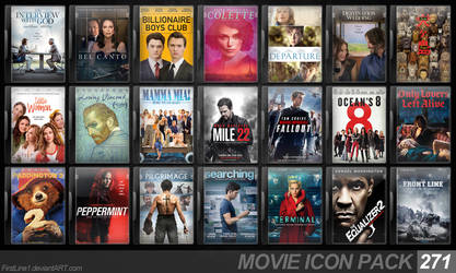 Movie Icon Pack 271 by FirstLine1