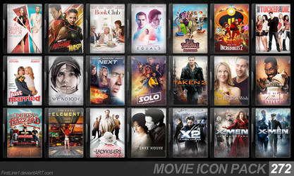 Movie Icon Pack 272 by FirstLine1