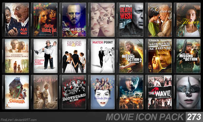 Movie Icon Pack 273 by FirstLine1