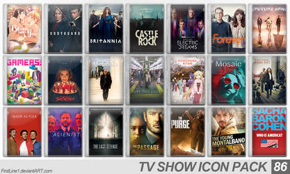 TV Show Icon Pack 86 by FirstLine1