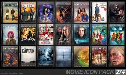 Movie Icon Pack 274 by FirstLine1