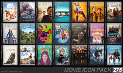 Movie Icon Pack 275 by FirstLine1