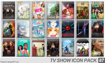 TV Show Icon Pack 87 by FirstLine1