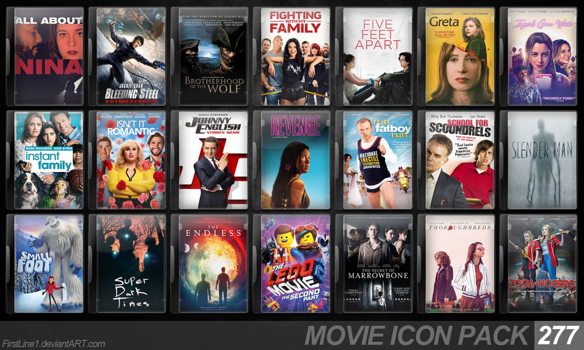 Movie Icon Pack 277 by FirstLine1