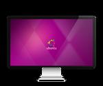 Ubuntu Minimal Wallpaper by farhansajjad
