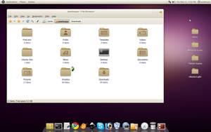 Ubuntu Light Theme Alpha 2 by fibermarupok