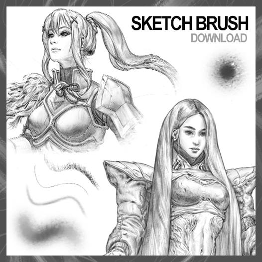 Sketch Brush by JohnSilva
