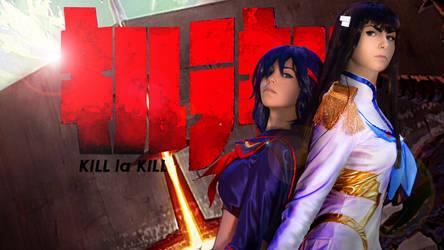 Ryuko and Satsuki - Kill la Kill by SilviaArts