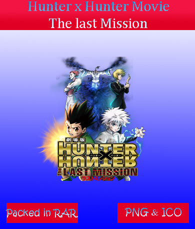 Hunter X Hunter The last Mission - anime icon by azmi-bugs ...
