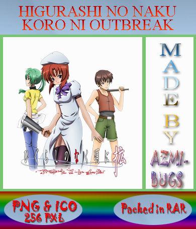 Higurashi No Naku Koro Ni Kaku Movie Anime Icon By Azmi Bugs On Deviantart
