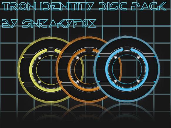 HD Tron Identity Disc Pack by SN3AKYfox