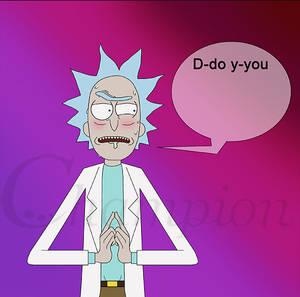 Rick and Morty - Rick valentine 2016/17/18